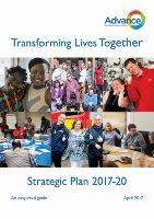 Advance Strategic Plan 2017-20 easy read