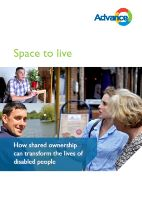 Space to live leaflet