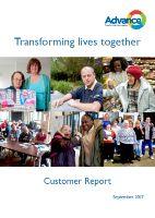 Advance Customer Report 2017
