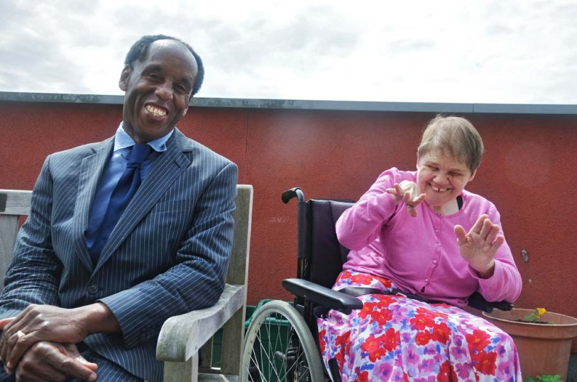 Advance supported housing customers Frank and Jean