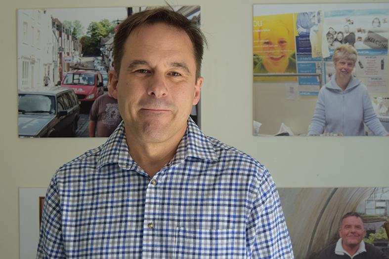 Simon Bradfield, Advance Director of Resources