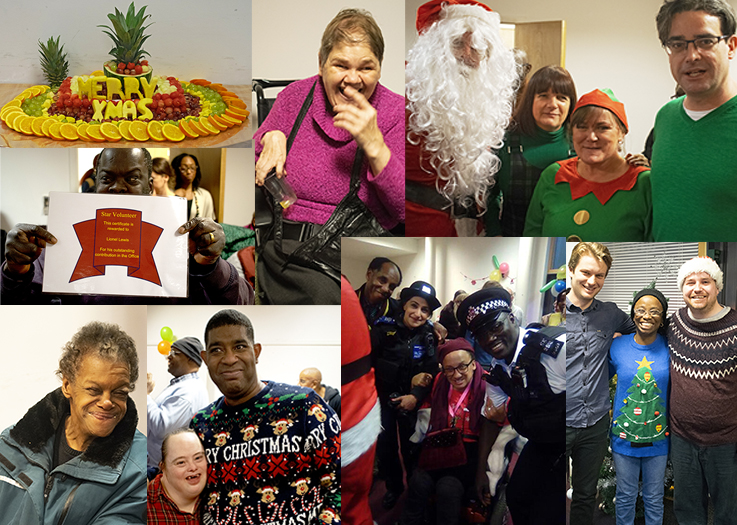 Advance Christmas party for Hackney customers