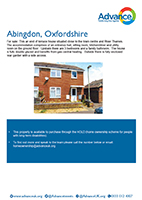 Advance Shared Ownership property in Abingdon, Oxford