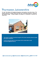 Advance Shared Ownership property in Thurmaston, Leicestershire
