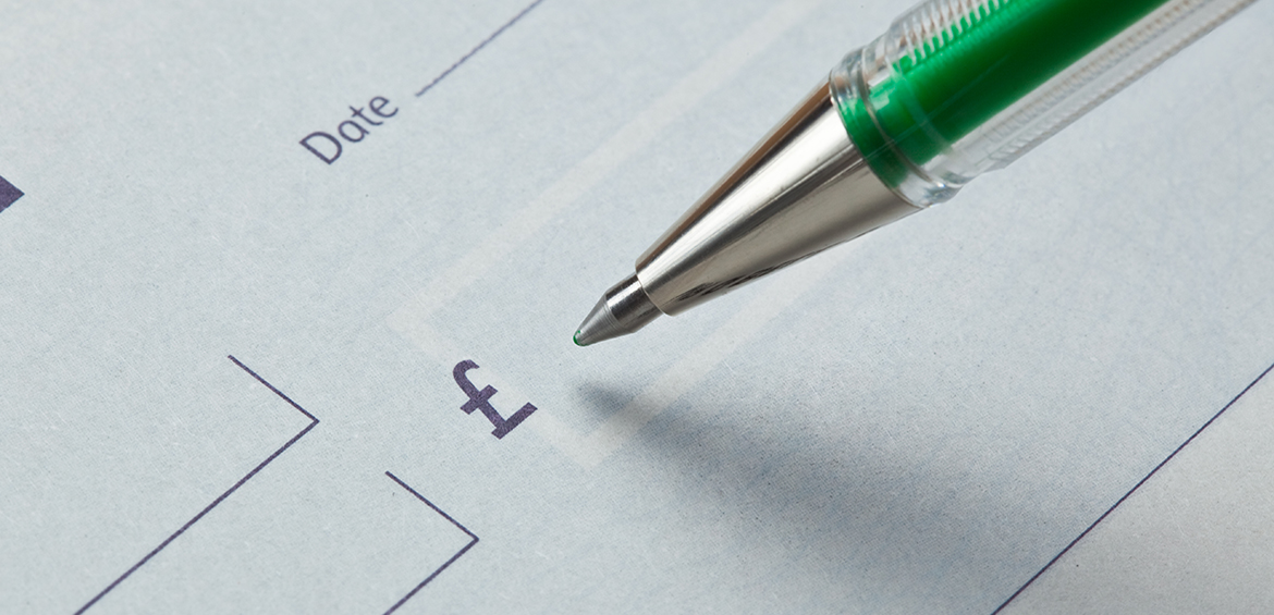 Advance Housing - paying by cheque