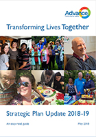 Advance Strategic Plan 2018 Update Easy Read
