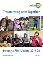 Advance Strategic Plan 2019-20 Update Easy Read