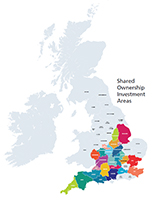 Shared ownership investment areas