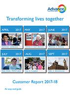 Easyread Advance Customer Report 2018