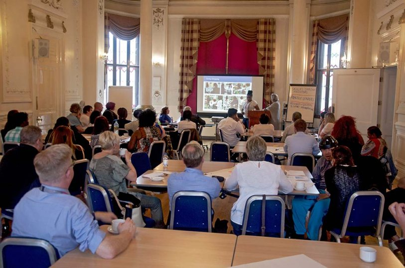 Advance Active Support presentation at Newnham Town Hall