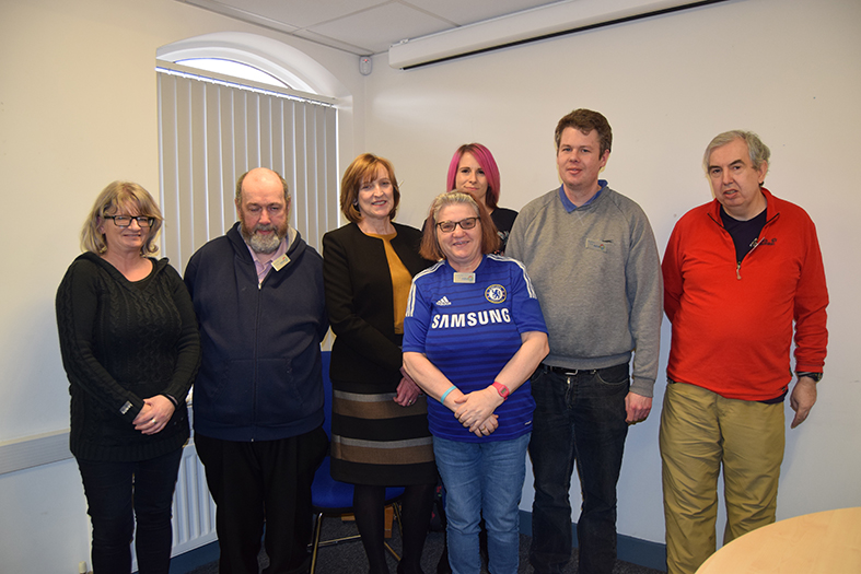 Advance National Forum members with Chief Executive Julie Layton
