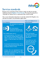 Advance service standards (easy read)