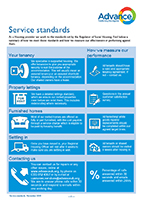 Advance service standards