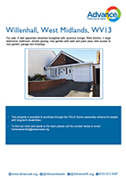 Advance Shared Ownership property in Willenhall, WV1