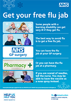 Protect yourself from flu poster
