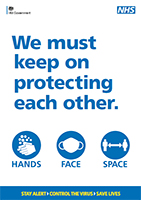 Hands Face Space poster