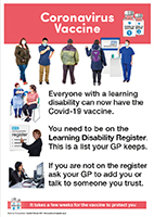 Vaccination and the GP Learning Disability Register