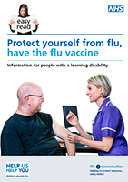 Protect yourself from flu leaflet