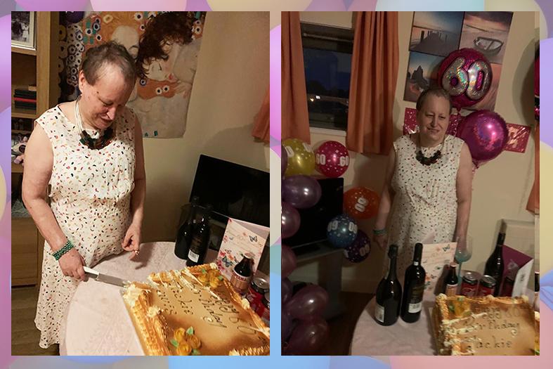 Jackie's 60th birthday